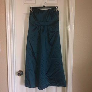 Alfred Angelo Sweetheart Teal dress